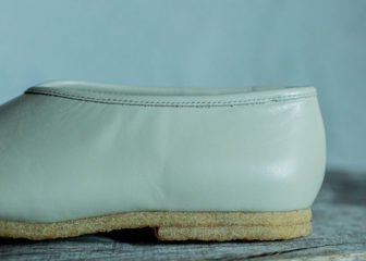 light leather first fork shoes